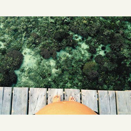 Kanawa Flores INDONESIA Babymoon Babybelly Babybump Pregnant Coral Coralreef