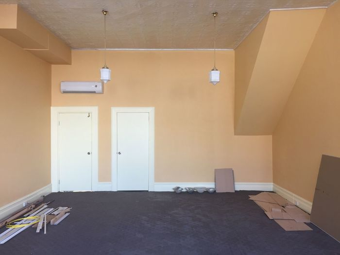 Interior of house renovation
