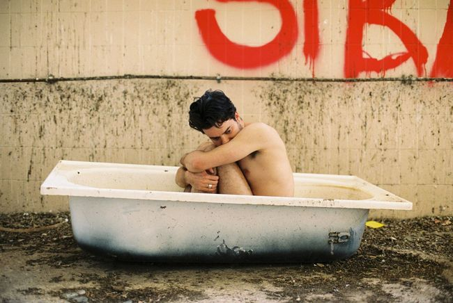 🛀 Film Photography EyeEm Best Shots Bathtub Taking A Bath Abandoned This Is Masculinity