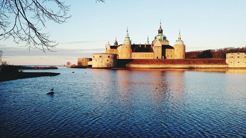 Kalmarslott Kalmar Castle Slott Sunrise Beautiful Place Beautiful Morning