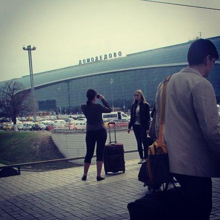 И вот 11 часов, а мы в аэропорте. Правда мы умудрились опаздать на рейс). И вот.. прощай , Россия