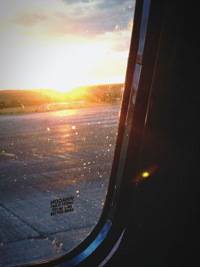 Sunsets and dirty windows. Sunset Window Truck Ford 1949