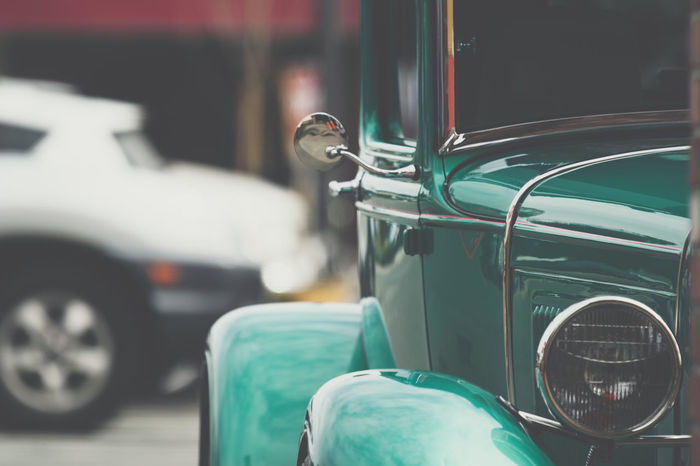 Vintage car with chrome Car Chrome Close-up Day Focus On Foreground Greaser HotRod Land Vehicle Metallic Mode Of Transport No People Old Car Old Cars Outdoors Shiney Shiney Metal Surface Transport Transportation Transportation Vintage Vintage Car Vintage Cars