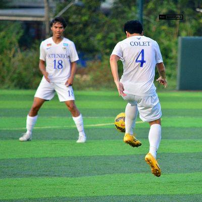 @leocarlol @kendallcolet ⚽ . . . UAAP Uaap77 Uaapseason77 ADMUvsUST ateneo AdMU UST uste sbspotlight soccerbible football themanansala