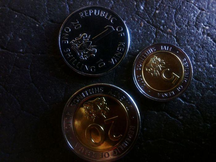 Kenyan Money Kenya Shillings Money Money Money Money Twenty Six