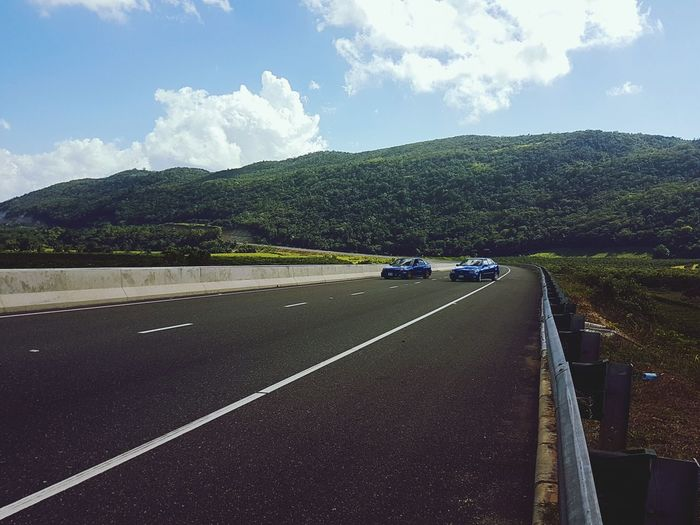 Traveling Home For The Holidays Transportation Travel Road Highway Mountain Cloud - Sky Landscape Driving Subaru Impreza Wrx STi Altezza The Street Photographer - 2018 EyeEm Awards Summer Road Tripping