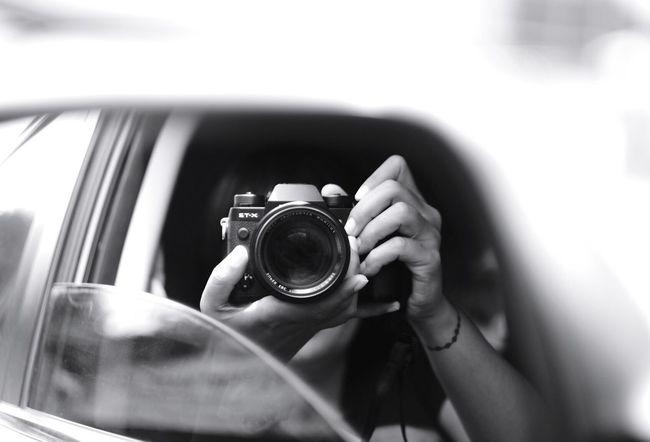 Monochrome Photography Reflection Mirror Camera Photography Fujifilm_xseries INDONESIA