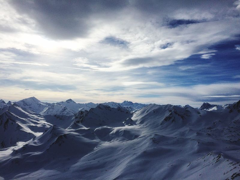 Mountains Summit Weareskiing OnTopOfTheMountain