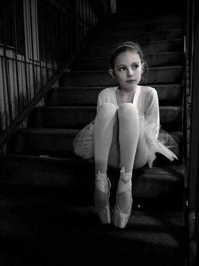 Portrait of young ballerina