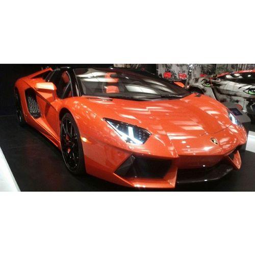 A V entador and the doors up like praise the lord Aventador Lamborghini 700hp V12 favourite car torontoautoshow cias