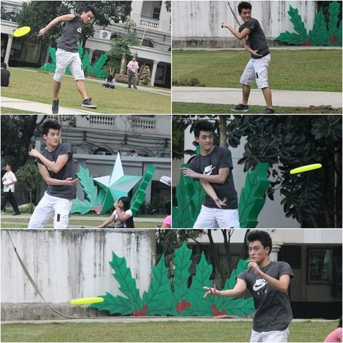 Excited for Tuesday xD My new favorite sport ^_^ Superlatepost Frisbee Ultimatefrisbee