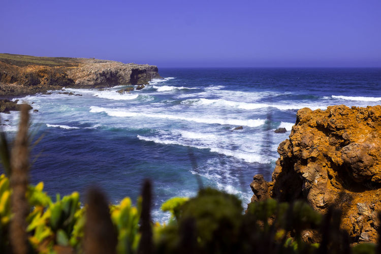 Wave Beach Beauty In Nature Day Horizon Horizon Over Water Land Nature No People Outdoors Rock Rock - Object Rock Formation Rocky Coastline Scenics - Nature Sea Sky Solid Tranquil Scene Tranquility Water Wave Waves My Best Travel Photo