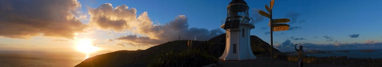 Sunrise Road Trip Lighthouse Cape Reinga