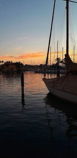 Twilight in Sotogrande marina Sunset Sunset_collection Sunset Silhouettes Sotogrande Boat Twilight Golf Club Mast Tall Ship Moored Marina Rigging Dock Water Vehicle Sailing Boat Nautical Vessel Low Tide Shipyard Harbor