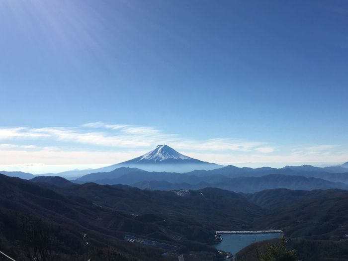 Mtfuji  Fujifilm_xseries Fujifilm X100f  Nature Sky Outdoors No People Peak Snow