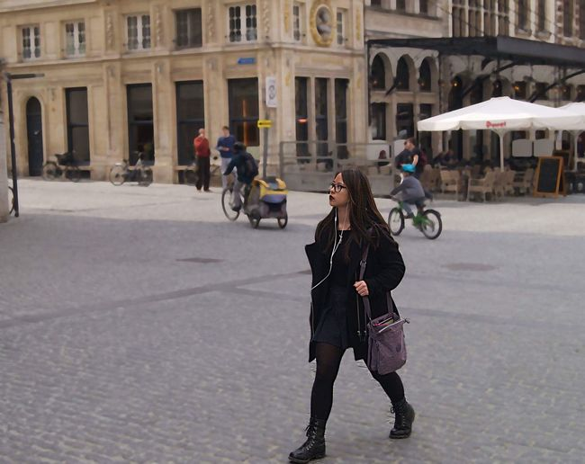 'If you're thinking already, you might as well think big' Leuven Thoughts Girl Lifestyles Tourist EyeEmNewHere