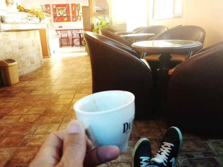 Oujda Morocco Cup Of Coffee Alone Coffee ☕ Quiet Moments Nice Place Time To Reflect Relaxing