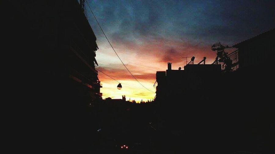 Skyporn Sunset Sky Cloud - Sky Nature First Eyeem Photo Love Lovephotography