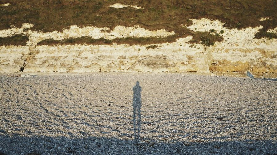 Real People Day Nature Outdoors One Person Sunlight Standing Beach Sand Men Beauty In Nature People Shadow Sunset Beach Normandie Sommergefühle