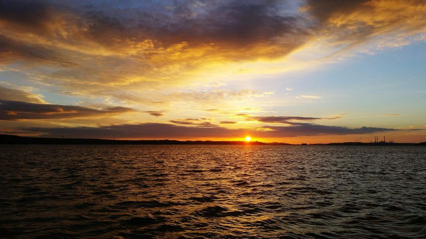 What I Value Sunrise Sun, Sea, Sky Clouds Water Milford Haven Pembrokeshire