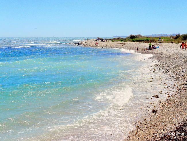 Playa de cantos rodados del rio Seco, Campello, Alicante. Streamzoofamily EyeEm Nature Lover EyeEm Best Shots Sea_collection