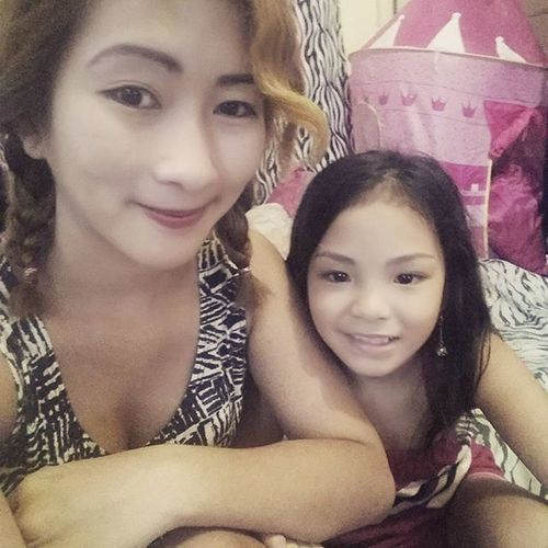 Selfie w/ Pamangkin. ♥ツ Feelingcrazy Ellahpots
