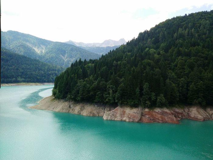 Greem lake Sauris Mountain View Carnia