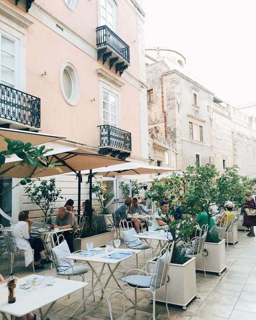 Restaurant in Syracuse Sicily Restaraunt Cozy Place Travelling Rosa Place To Visit Place To Go
