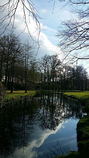 Water Sky No People Outdoors Kasteel Groeneveld Baarn Beauty In Nature Reflection