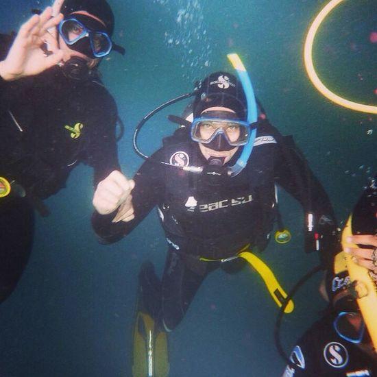 Scuba Diving That's Me Cressi