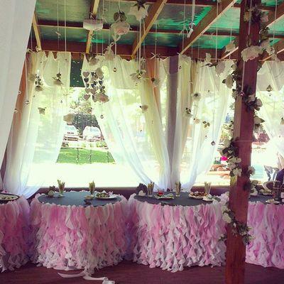 Заехали на дачу, а здесь свадебный фуршет  Владивосток  свадьба