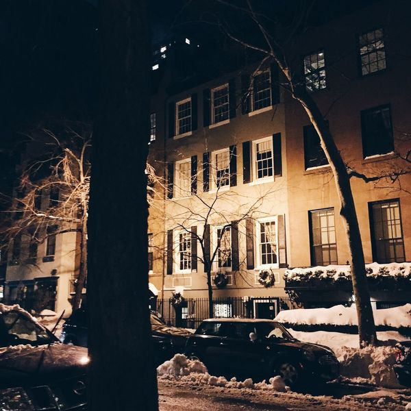 Gramercy New York City during the blizzard