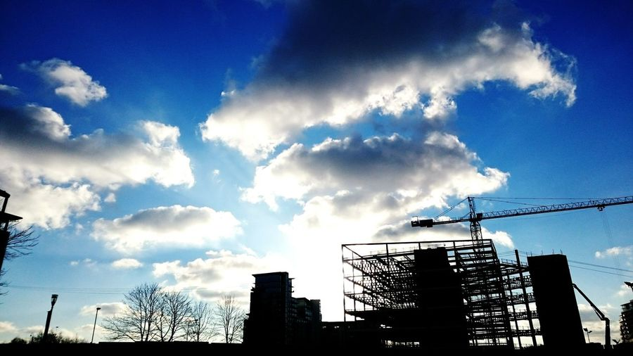 Sky Blue Sky Nice Day Clouds Clouds And Sky Sky And City EyeEm Gallery