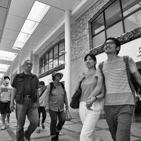 B&w Street Photography Streetphotography_bw City Street Snapshot CityWalk On The Road People City Life Enjoying Life at Kichijoji 吉祥寺 , Tokyo Japan