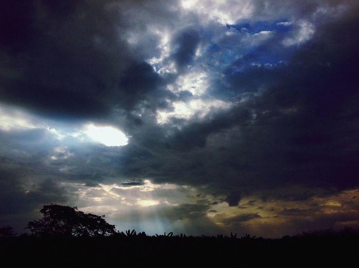 The sky is my home page☁️🏡 Sky Hello World Hellothailand Good Times Goodday Enjoying Life Nongkhai Thai