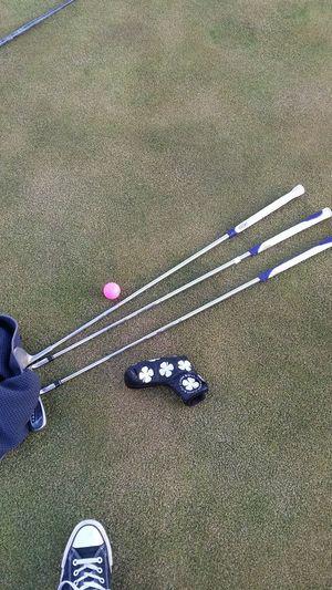 Golf Golfball Golfing Golf Clubs Golf Ball Golf Equipment Putting Green Overhead View