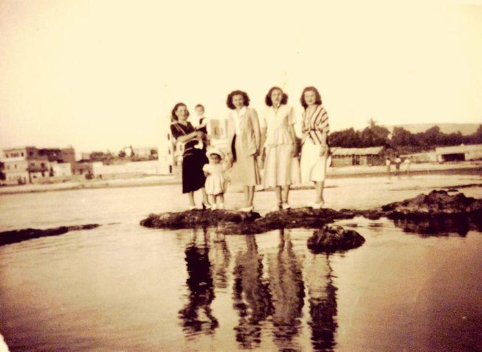Retro Vintage Blackandwhite High Heels ❤