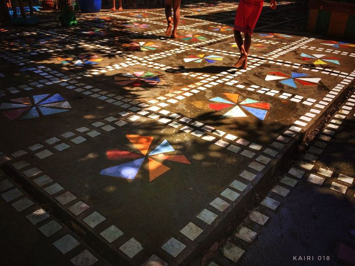 EyeEm Diversity Tiles Art Pattern, Texture, Shape And Form Walking People Photography Is Life♥ Art Is Everywhere
