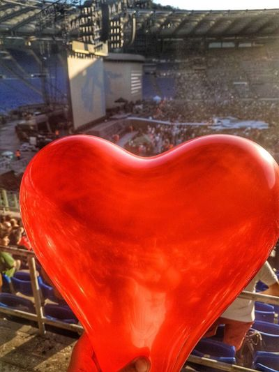 Red U2 The Joshua Tree Tour 2017 u2, Rome, concert, heart, love Investing In Quality Of Life