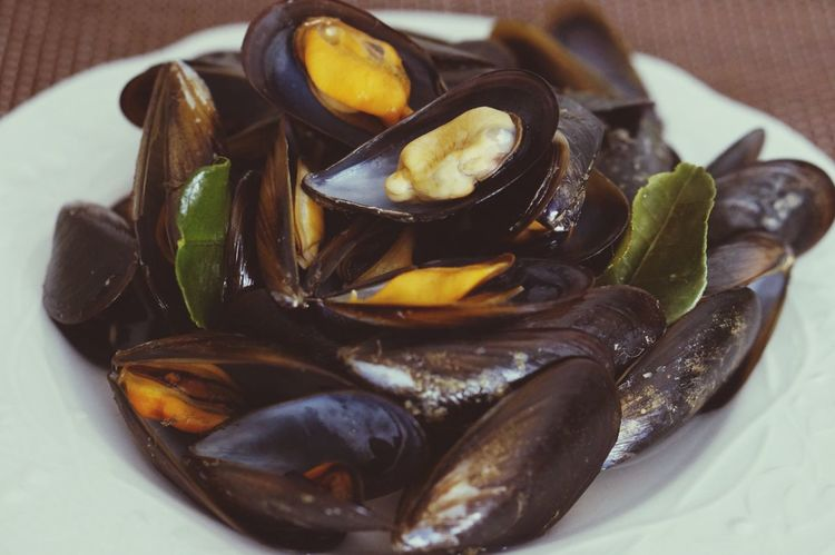Food Healthy Eating Close-up Food And Drink Freshness Mussel Indoors  Ready-to-eat No People Day Cozze Seafoods