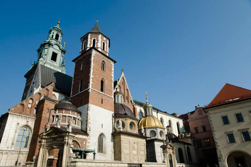 Wawel Cathedral - Krakow - Poland Cathedral Poland Wawel  Architecture Building Exterior Built Structure Krakow Main Square Place Of Worship