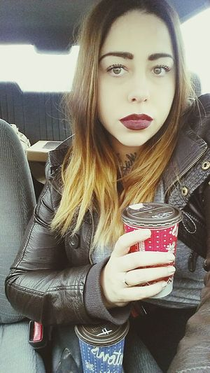 Coffeeaddict Timhortons Me That's Me Selfie Inkedgirls