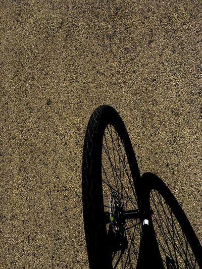 From My Polnt Of View Bicycle Tyre The Week Of Eyeem Tranquil Scene Our Best Pics No People On Tarmac Road Bicycle Tire Ruota Details Still Life Close-up From My Point Of View Abstractart Outdoor Welcomeweekly The Street Photographer - 2016 EyeEm Awards Vertical EyeEm Selects Bycicle Tyre Tracks Shadows & Lights