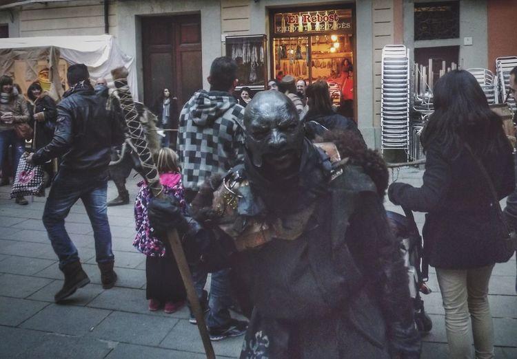 Dark Scary Medieval in Vic Osona Barcelona Catalunya World Medieval Market