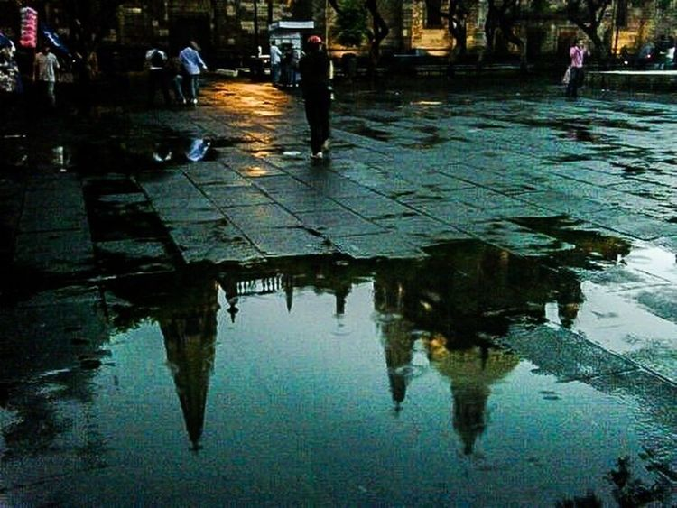 Water Reflections Architecture Traveling Street Photography Streetphotography Guadalajara Catedral De Guadalajara Catedral de Guadalajara Jalisco, Mexico