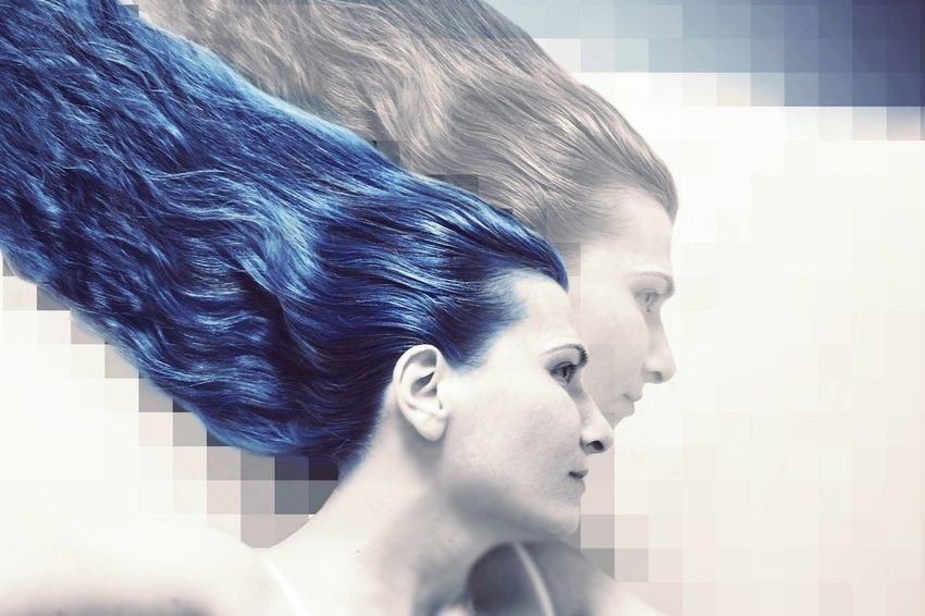 Second Version Double Blue Let Your Hair Down 😊 Edit People EyeEm Gallery Crazy Mobilephotography MyArt Edit Junkie Pixelated Background Playing With Effects After Waking Up.. Gradient Colorsplash Xperiaz2 Showing Imperfection ExpressYourself Shadow