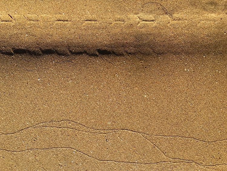 Wave marks, tire marks Human Nature EyeEmNewHere