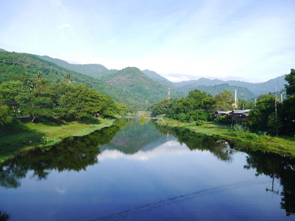 Mountain Water Reflection Tranquil Scene Scenics Tranquility Tree Waterfront Sky Mountain Range Beauty In Nature Nature Non-urban Scene Majestic Standing Water Remote Outdoors Day Calm Green Color Thailand Thailandtravel Kiriwong Nakornsithammarat