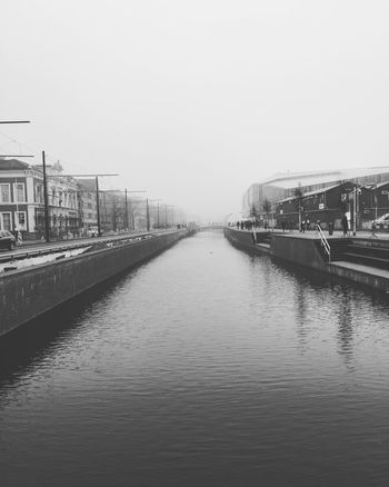 B&w Street Photography Delft