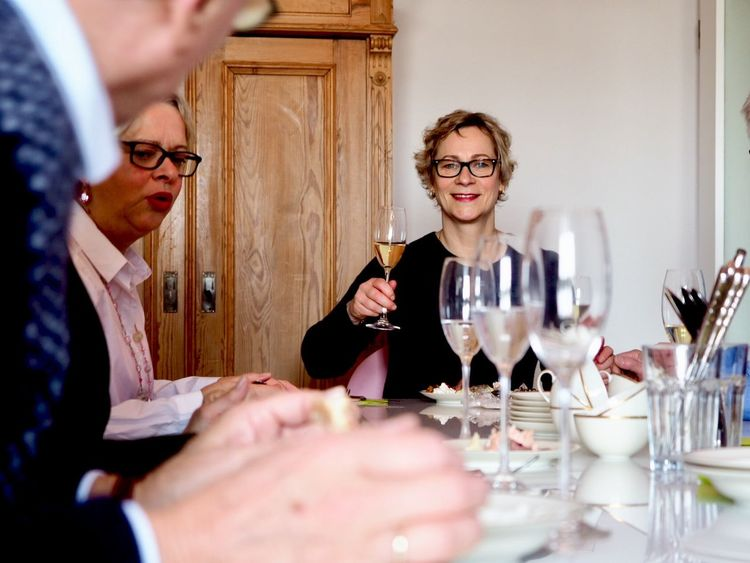 Cheers 🥂 Tableware Cheers Guest Food And Drink Table Brunch Breakfast Champagne Lunch Wine Wineglass Red Wine Two People Wine Bottle Alcohol Mid Adult Indoors  Eyeglasses  Winery Togetherness Drinking Table Adults Only Selective Focus Drink Adult People This Is Family